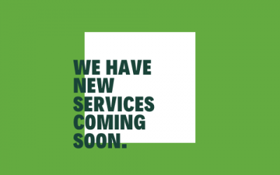 New Services Coming In February
